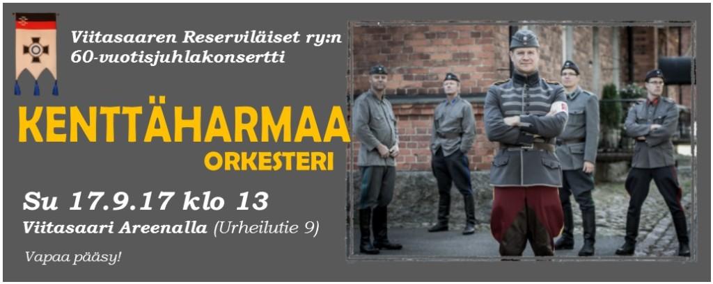 Banneri - Kenttaharmaa orkesteri 17092017